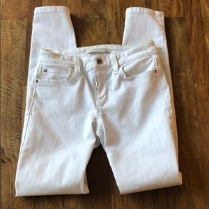 Joe's Jeans White size 24 The Icon Crop